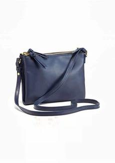 Old Navy Double-Zip Crossbody Bag for Women