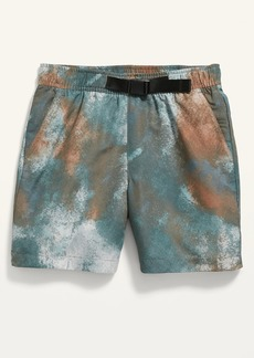 Old Navy Dry-Quick Belted Shorts for Boys