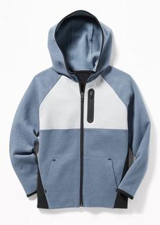 Old Navy Dynamic Fleece 4-Way-Stretch Color-Block  Zip Hoodie for Boys