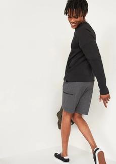 Old Navy Dynamic Fleece Cargo Jogger Shorts for Men -- 9-inch inseam