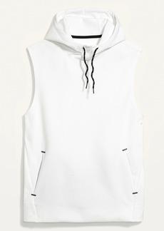 Old Navy Dynamic Fleece Sleeveless Pullover Hoodie for Men