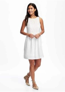 Old Navy Embroidered Swing Dress for Women