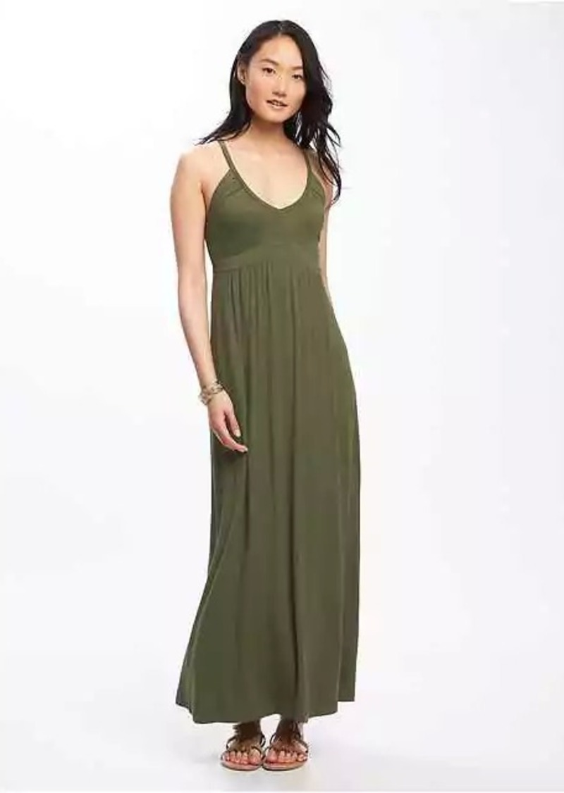 a5c5c3de9f2 On Sale today! Old Navy Empire-Waist Maxi Dress for Women