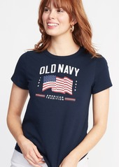 Old Navy EveryWear 2019 Flag Graphic Tee for Women