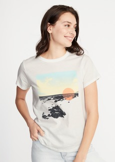22c164e9 Old Navy Peanuts® Snoopy-Graphic Tee for Women | Tees