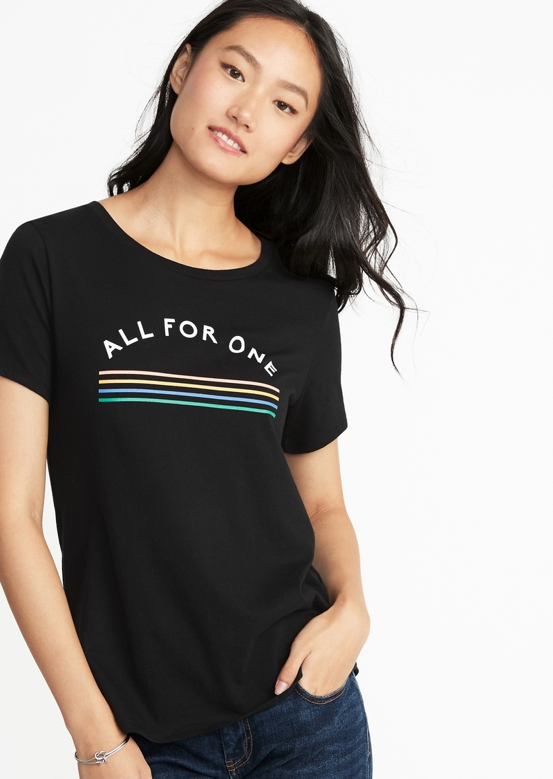 346d4db141f7 Old Navy EveryWear Graphic Tee for Women