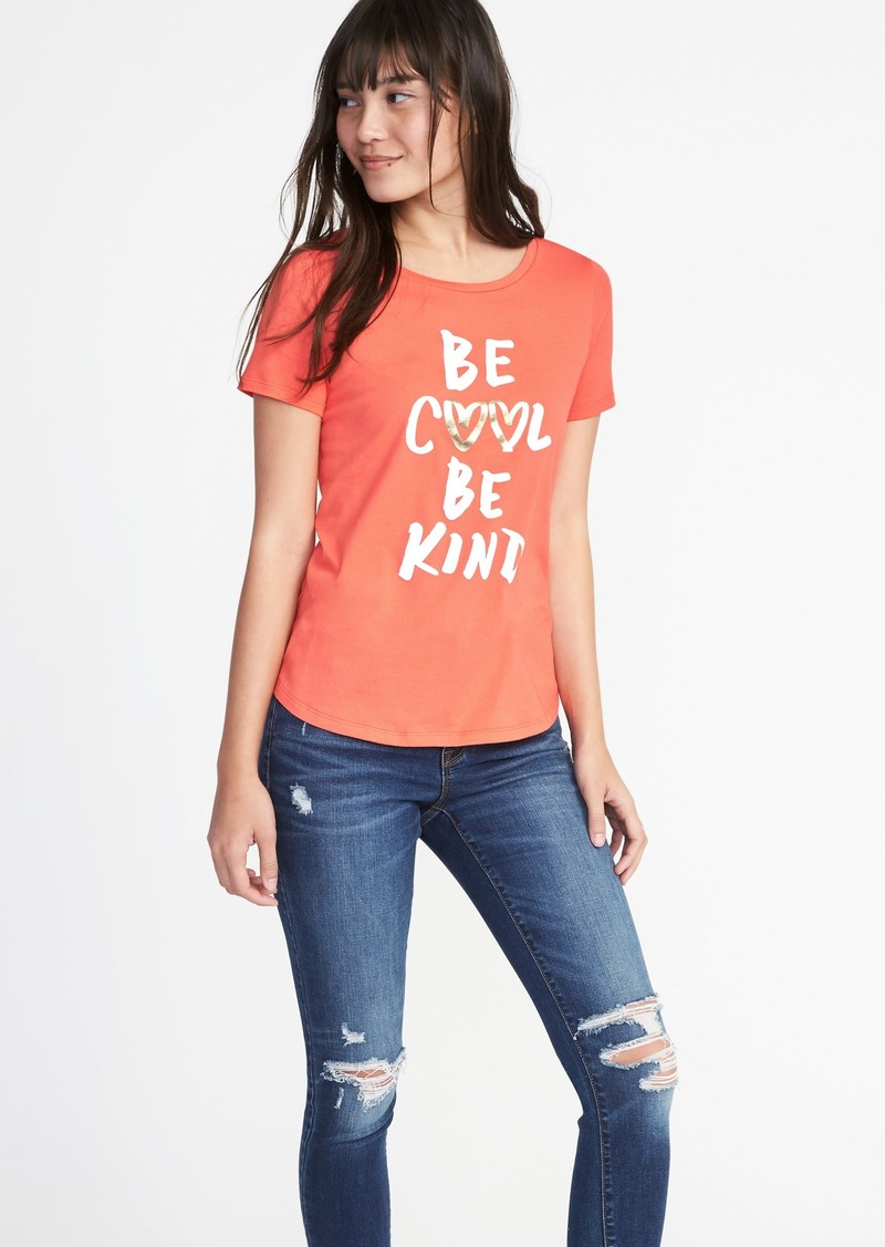 904aff197d13 Old Navy EveryWear Graphic Tee for Women   Tees
