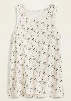 Old Navy EveryWear Slub-Knit Printed Tank Top for Women