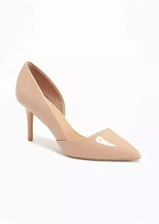 Old Navy Faux-Patent D'Orsay Pumps for Women