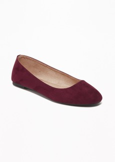 Old Navy Faux-Suede Ballet Flats for Women