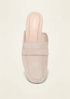Old Navy Faux-Suede Driving Mule Flats for Women