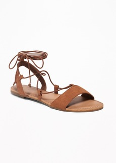 Old Navy Faux-Suede Gladiator Sandals for Women