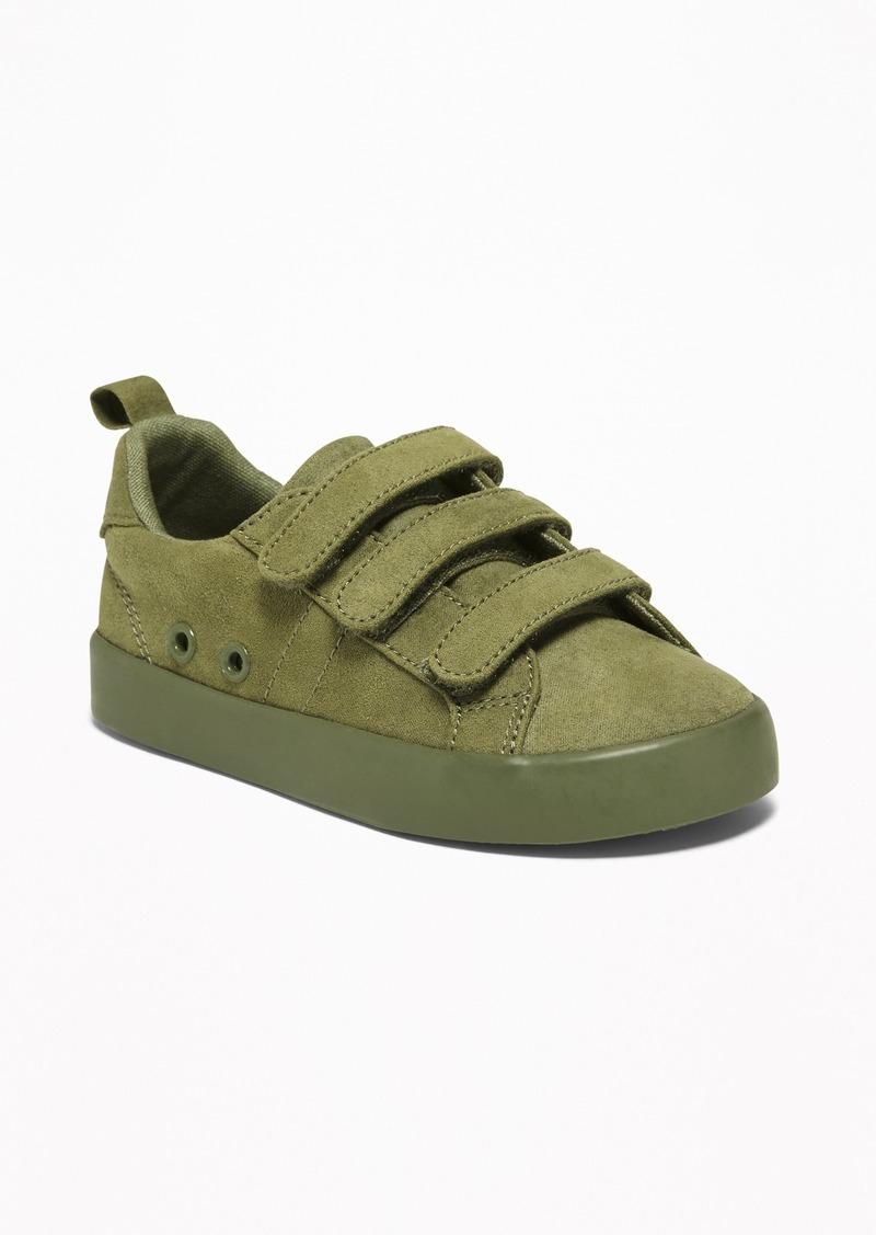 Old Navy Faux-Suede Triple-Strap Sneakers For Toddler Boys