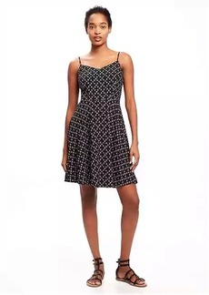 Old Navy Fit & Flare Cami Dress for Women