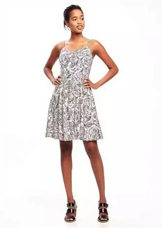 Fit & Flare Cami Dress for Women