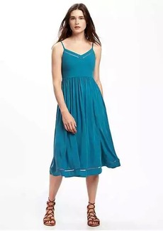 Fit & Flare Cami Midi Dress for Women
