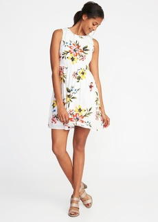 Old Navy Fit & Flare Sleeveless Dress for Women