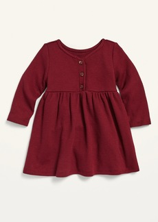 Old Navy Fit & Flare Thermal Henley Dress for Baby