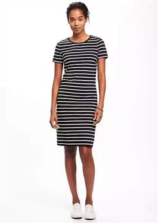 Old Navy Fitted Crew-Neck Tee Dress for Women