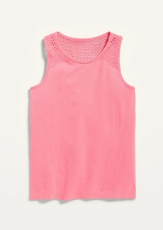Old Navy Fitted Go-Dry Seamless Tank for Girls