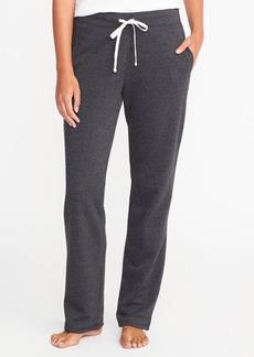 Old Navy Fleece Straight-Leg Sweatpants for Women