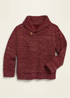 Old Navy French Rib Shawl-Collar Pullover Sweater for Toddler Boys