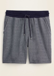 Old Navy French Terry Baja Jogger Shorts for Men -- 7.5-inch inseam