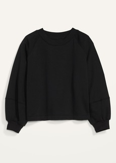 Old Navy French Terry Blouson-Sleeve Sweatshirt for Women