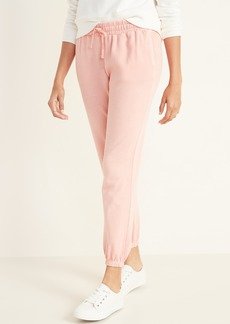 Old Navy French Terry Cinched-Hem Joggers for Women