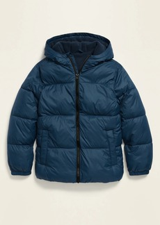 Old Navy Gender-Neutral Frost-Free Hooded Puffer Jacket for Kids