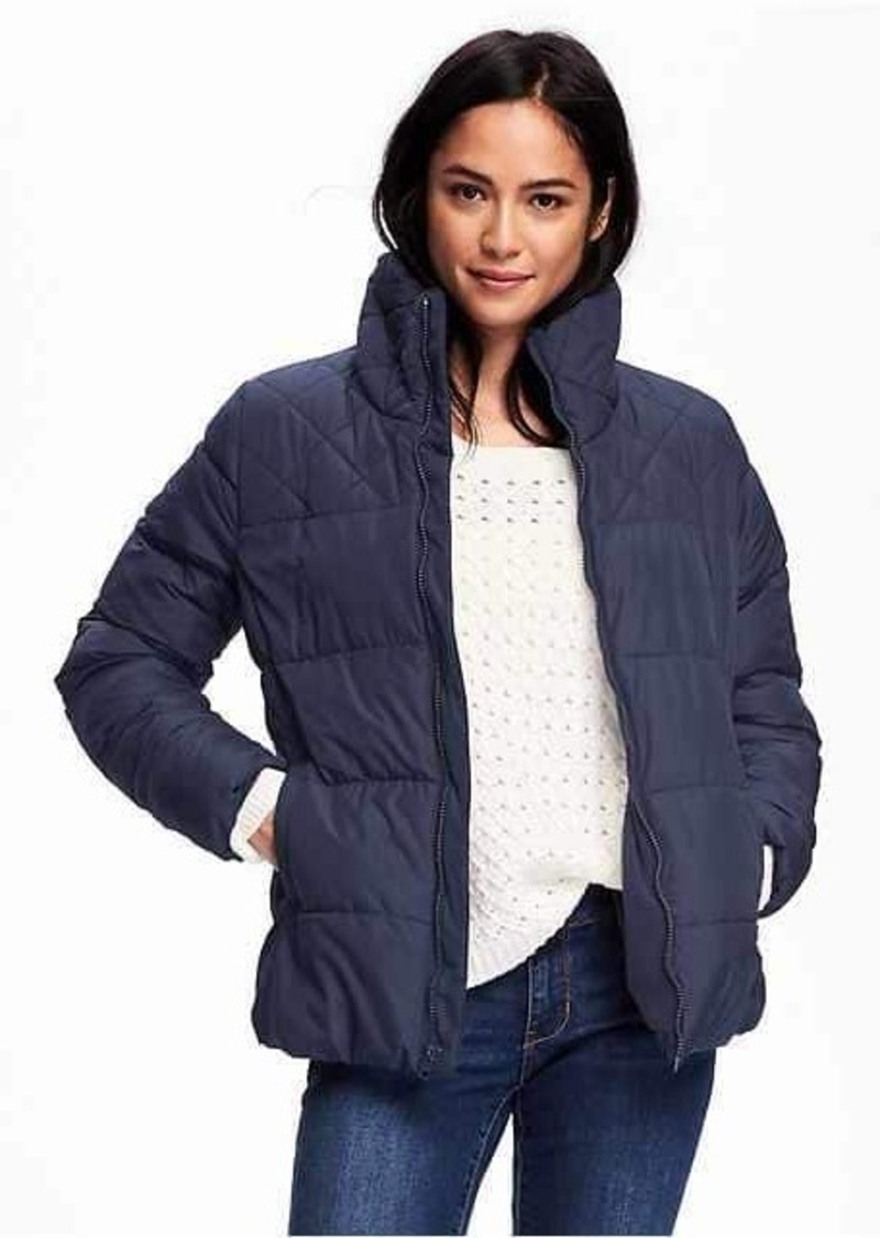 Old Navy Frost Free Quilted Jacket For Women Outerwear