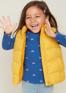 Old Navy Frost-Free Quilted Puffer Vest for Toddler Girls
