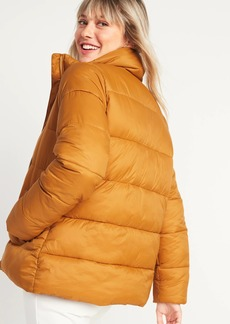 Old Navy Frost-Free Zip-Front Puffer Jacket for Women