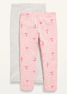 Old Navy Full-Length Leggings 2-Pack for Toddler Girls