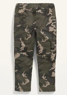 Old Navy Functional-Drawstring Camo-Print Cargo Pants for Toddler Boys
