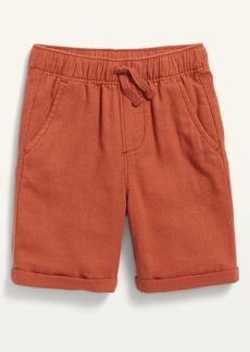 Old Navy Functional Drawstring Linen-Blend Shorts for Toddler Boys