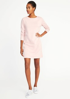 Garment-Dyed French-Terry Dress for Women