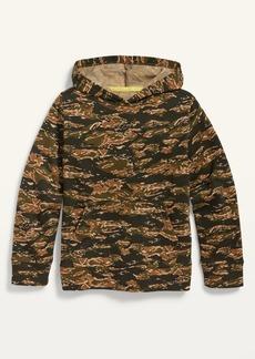 Old Navy Garment-Washed Gender-Neutral Pullover Hoodie for Kids