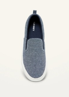 Old Navy Gender-Neutral Chambray Slip-On Sneakers for Kids