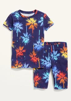 Old Navy Gender-Neutral Printed Pajama Set for Kids