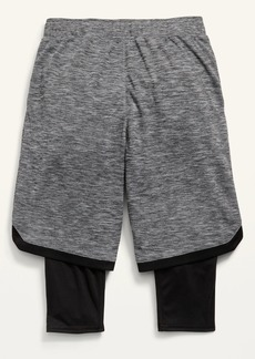Old Navy Go-Dry 2-in-1 Mesh Basketball Shorts for Boys