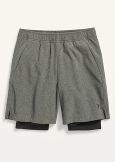 Old Navy Go-Dry 2-in-1 Run Shorts for Boys