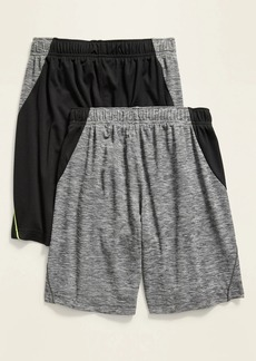 Old Navy Go-Dry Color-Blocked Mesh Shorts 2-Pack for Boys