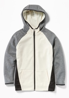 Old Navy Go-Dry Color-Blocked Zip Hoodie for Boys