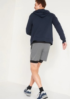 Old Navy Go-Dry Cool 2-in-1 Run Shorts + Base Layer for Men -- 7-inch inseam