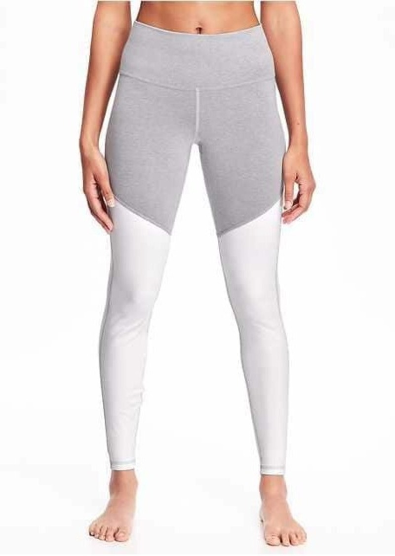 1012d78ba2 Old Navy Go-Dry Cool Mid-Rise Yoga Leggings for Women | Athletic Pants