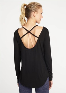 Old Navy Go-Dry Cross-Back Top for Women