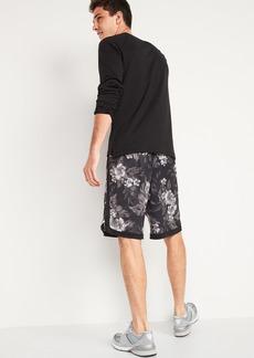 Old Navy Go-Dry Mesh Basketball Shorts for Men -- 10-inch inseam