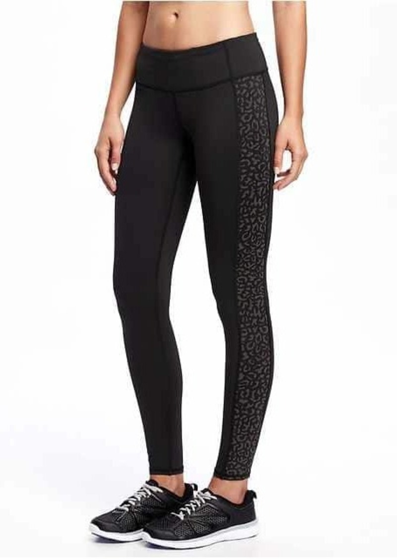 c4fbbf7ccf Old Navy Go-Dry Mid-Rise Leggings for Women | Athletic Pants