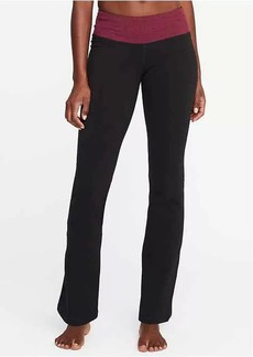 Old Navy Mid-Rise Boot-Cut Yoga Pants for Women